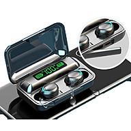 Tai Nghe Bluetooth 5.0 CAPARIES V15-F95 LED - (Tai Nghe Không Dây) Chống Nước - Chống ồn - Tích Hợp Micro - Tự Động Kết Nối - Nhỏ gọn - Âm Thanh 8.0 HD - Tương Thích Cao Cho Tất Cả Điện Thoại CHÍNH HÃNG thumbnail