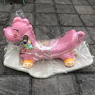 Ngựa bập bênh 2in1 cho bé nhựa đẹp an toàn 9005 thumbnail