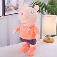 Gấu Bông Heo Peppa Pig ICHIGO Áo Cam 40cm Quà Tặng Siêu Hot thumbnail