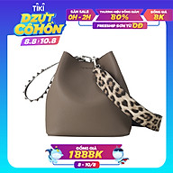 Túi đeo chéo Find Kapoor Pingo Bag 20 Basic Lettering FBPB20CBX98F01 - màu nâu thumbnail