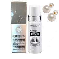 Sữa Rửa Mặt Detox BlanC Thải Độc Sủi Bọt Trắng Da Detox Mask (Mẫu mới) + Tặng Kèm hoa tai ngọc trai cực xinh thumbnail