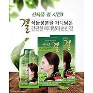 Dầu Gội Nhuộm Tóc Phủ Bạc Ganpyeonhan Hair-Color Soon Han Gyeol (Dark-Brown) (3 gói hộp) thumbnail