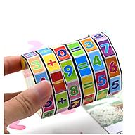 Khối lập phương giải đố làm toán cho bé - Đồ chơi thông minh - Kích thước 7.7cm thumbnail