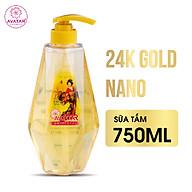Sữa tắm hương nước hoa 24k Nano Avatar 750ml- Sữa tắm sáng da, loại bỏ hắc tố, hương nước hoa thumbnail