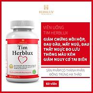 Viên uống hoạt huyết dưỡng não Tim Herblux giúp giảm nguy cơ tai biến thumbnail