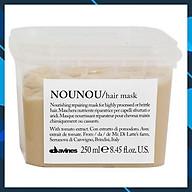 Mặt nạ ủ (hấp dầu) phục hồi tóc hư tổn Davines Nounou Hair mask 250ml thumbnail