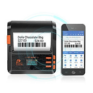Máy in nhãn vận chuyển, in vận đơn, in bill di động bluetooth 80mm PUTY PT-82DC cho Android và iOS ( Hàng nhập khẩu) thumbnail