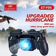 Tay cầm chơi game Earldom F06 có tản nhiệt và hỗ trợ tốt nhất khi chơi các tựa game trên điện thoại - Hàng Chính Hãng thumbnail