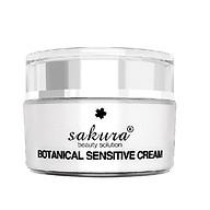 Kem Dưỡng Dành Cho Da Nhạy Cảm và Phục Hồi Hư Tổn Sakura Botanical Sensitive Cream thumbnail