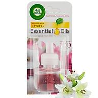 Lọ tinh dầu thiên nhiên Air Wick Smooth Satin & Moon Lily 19ml QT004231 - hương hoa ly thumbnail