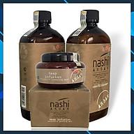 TRỌN BỘ GỘI - XẢ - Ủ NASHI ARGAN 500ML thumbnail