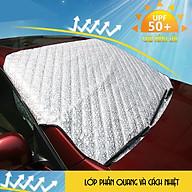 Tấm bạt phủ che nắng bên ngoài kính lái xe ô tô cao cấp CNB2 - Kích thước 142x92cm thumbnail