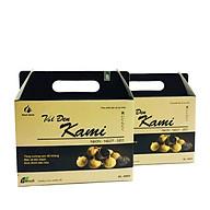 Combo 2 hộp Tỏi đen bóc vỏ Kami 500g thumbnail