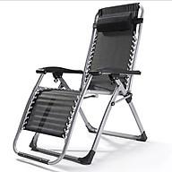Ghế xếp thư giãn, ghế bố thông minh K171 Màu đen thumbnail