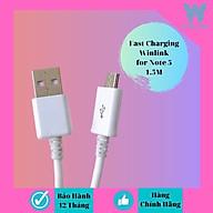 Dây cáp sạc hàng chính hãng Winlink Note 1.5m đuôi USB - MICRO thumbnail