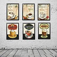 Bộ 6 Khung ảnh Treo Tường quán Cafe KA604 thumbnail