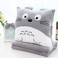 Bộ chăn gối Totoro 1x1.7m (tặng kèm 1 sản phẩm ngẫu nhiên) thumbnail