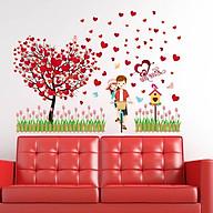 Decal dán tường vườn tình yêu thumbnail