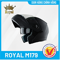 Nón bảo hiểm lật cằm Royal M179 thumbnail