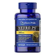 Thực Phẩm Chức Năng - Viên Uống Tăng Cường Tuần Hoàn Não, Cải Thiện Trí Nhớ Puritan S Pride Neuro-Ps Gold (90 Viên) thumbnail