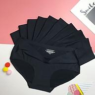 Quần lót nữ Su đúc Thun lạnh Không đường may - Hàng loại 1 cao cấp - [Tặng kèm túi zip du lịch nhỏ xinh 10x15cm tiện lợi khi mua bộ 10 quần] thumbnail