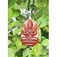 Mặt dây chuyền Phật Hư Không Tạng Bồ Tát_Đá Mã Não Đỏ_Hộ Mệnh Người Tuổi Sửu, Dần thumbnail