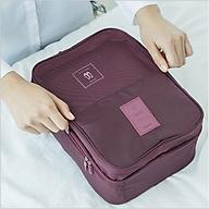 Túi Đựng Giày Cao Cấp, Túi Du Lịch Hàn Quốc, chống thấm ngăn mùi, xếp gọn đa năng trong vali túi Bag in Bag. thumbnail