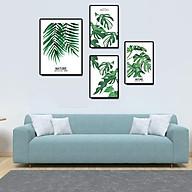 Tranh treo tường, tranh canvas TB06 bộ 4 tấm thumbnail