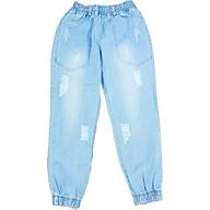 quần jean nữ baggy lưng thun freesize từ 40 - 55kg hàng made in Viet Nam thumbnail