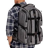 Balo Máy Ảnh Camera Bags Designer Back Pack (L) - Hàng Chính Hãng thumbnail