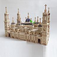 Đồ chơi lắp ráp gỗ 3D Mô hình tháp Pilar Basilica thumbnail