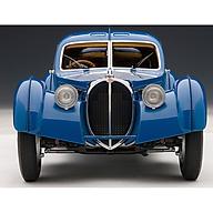 Xe Mô Hình Bugatti 57sc Atlantic 1938 1 18 Autoart - 70943 (Xanh ) thumbnail