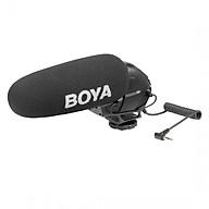 Micro shotgun cho máy ảnh, máy quay Boya BY-BM3030 - Hàng chính hãng thumbnail