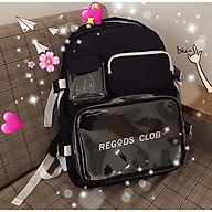 Balo Thời Trang Regods club Unisex học sinh sinh viên đi học laptop Balo đi học nam,nữ thời trang hàn quốc cặp thumbnail