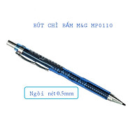 Bút chì kim bấm M&G MP0110A ngòi 0.5 mm, màu đỏ, xanh dương, xanh ngọc, vàng-1 cây thumbnail