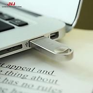 USB 4 8 16 32 64GB 2.0 JVJ S3 siêu nhỏ vỏ kim loại, chống nước - Hàng Chính hãng thumbnail