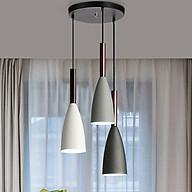 Đèn chùm - đèn thả phòng khách - đèn thả bàn ăn - đèn treo trần trang trí cao cấp PUCA lamp bộ 3 đèn thumbnail