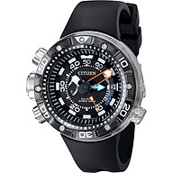 Citizen Eco-Drive Men s BN2029-01E Promaster Aqualand Depth Meter Analog Display Black Watch thumbnail