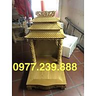 bàn thờ thần tài gỗ pơmu 56cm thumbnail