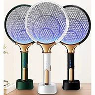Vợt muỗi kiêm đèn bắt muỗi 2 trong 1 - Chức năng bắt muỗi tự động thông minh cho bạn rảnh tay thumbnail