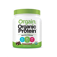 Bột Protein thực vật hữu cơ Orgain Organic Protein Greens 462g hương socola thumbnail
