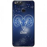 Ốp lưng dành cho Honor 7X mẫu Cung hoàng đạo Aries (xanh) thumbnail