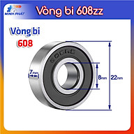 Vòng bi im lặng 608 608z 608zz 608RS 608DU động cơ loại tốt tốc độ cao thumbnail