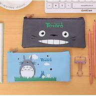 [COMBO 2 chiếc] Túi Vải Đựng Đồ Dùng Học Tập TOTORO - Túi Đựng Bút Viết Siêu Cute thumbnail