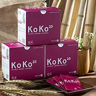 Combo 3 Thực phẩm chức năng KoKo 25- Cao Khô Hà Thủ Ô Collagen Làm Đen Tóc Đẹp Da thumbnail