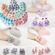 Giày hài nơ cho bé gái ( 1 đôi ) thumbnail