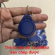 [Thẻ Dành Cho Sao Chép] Thẻ Từ RFID Tần Số 13,56Mhz Dạng Móc Khóa thumbnail