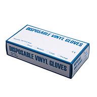 100x Transparent PVC Plastic Disposable Gloves For Restaurant Latex Powder Free Gloves thumbnail
