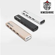 Hub chia 4 cổng USB 3.0 Kingshare (Màu Ngẫu Nhiên) - Hàng nhập khẩu thumbnail
