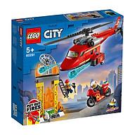 Đồ chơi LEGO City Trực Thăng Cứu Hỏa 60281 thumbnail
